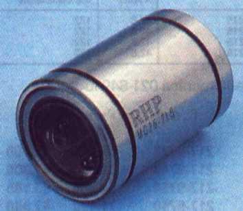 Bloccaggio del cuscinetto a sfere per cuscinetti a sfere per movimenti lineari in lega di alluminio Boccola di scorrimento per cuscinetti lineari chiusa scs25uu